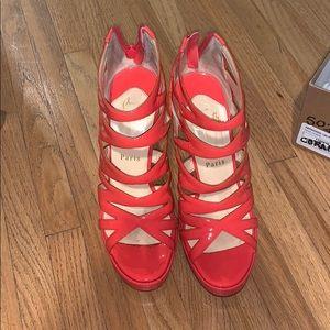 Christian louboutin fernando 120 patent  heels 37